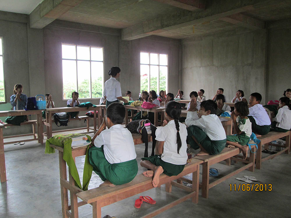 One of the new classrooms in the NTTC-Building