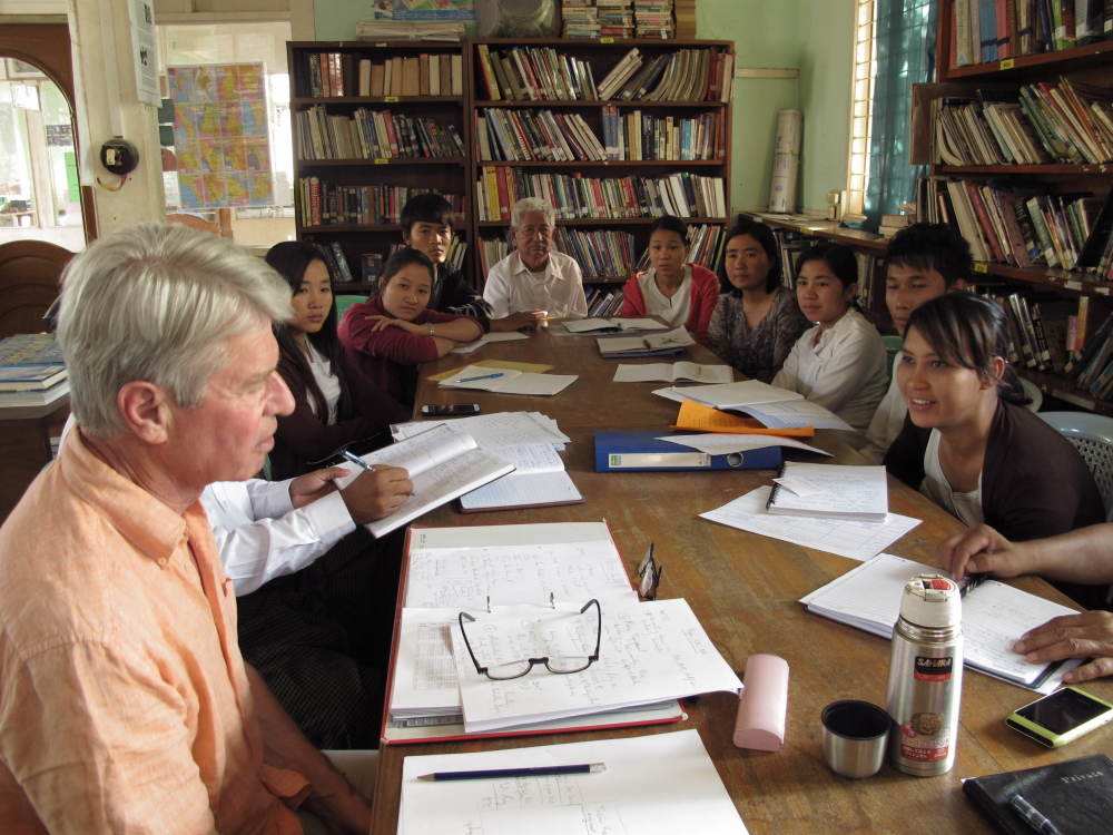 Konrad Krajewski visits the   Phaung Daw Oo Monastic High School (PDO)