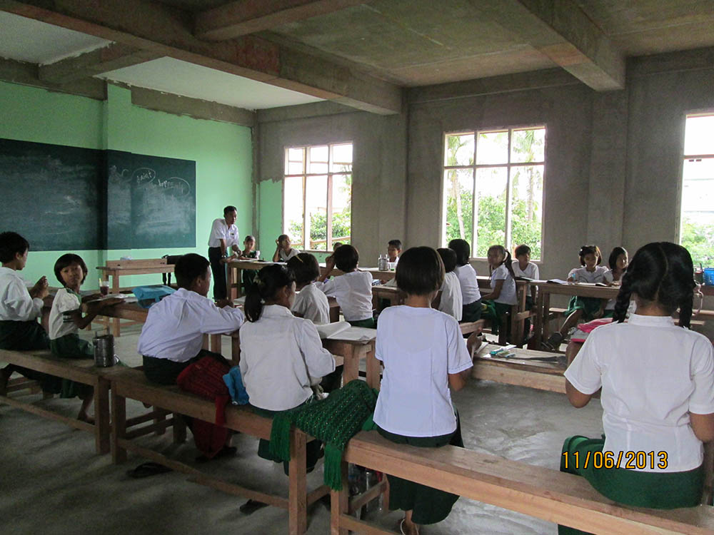 New schoolclasses  have already moved into the NTTC-Building