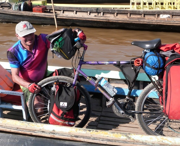 Myanmar by bike : Heinz Zimmer shows a slide show of his first voyage and is getting ready for a second trip to the Golden Land