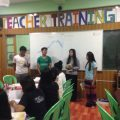 Servicelearning: the two last weekly reports