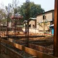 This is fast: the construction of the new elementary school Mingun