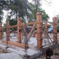 New primary school Mingun: The construction progress
