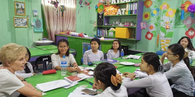 New projects in Mingun: Nutrition and transportation for the Kindergarten and School Kids