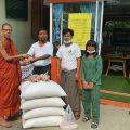 Rice donation: First successes