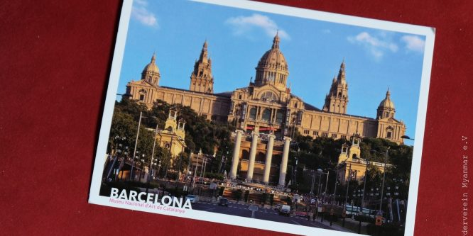 "Encouragement: ""Fan mail"" from Barcelona"