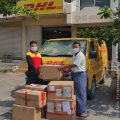 The  miracle: seven boxes with IT material arrived at the PDO